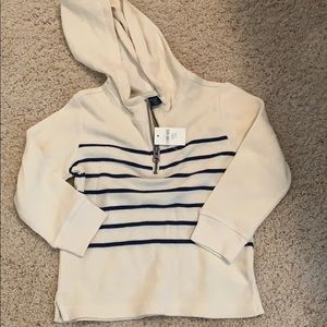 NWT sweater with hoodie